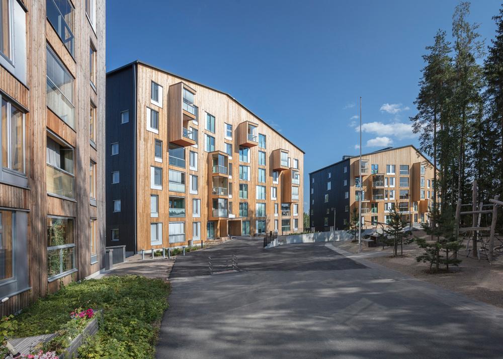 Tämän kuvan alt-attribuutti on tyhjä; Tiedoston nimi on OOPEAA_Puukuokka-Housing-Block_House-3_Mikko-Auerniitty_12-1.jpg